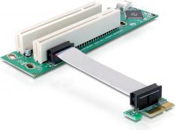 Delock Riser Card PCIe x1 - 2x PCI 32bit (41341)