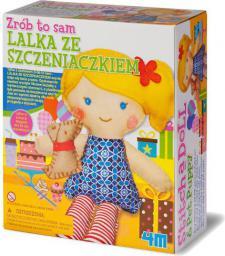 4M Zrób to sam  lalka ze szczeniaczkiem 2767