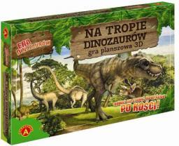 Alexander Gra planszowa 3D Na tropie dinozaurów