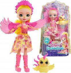 Mattel Enchantimals Royals Falon Sunrise & zwierzątko Feniks (GYJ04)