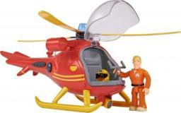 Simba Strażak Sam Helikopter ratowniczy z dźwiękiem i światłem + figurka