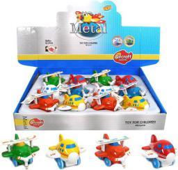 Playme PLAYME Samolot metalowy z napędem - 1570529
