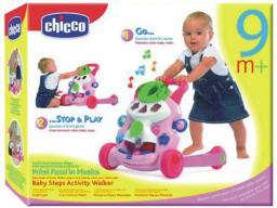 Chicco CHICCO Grający pchacz różowy - 652612
