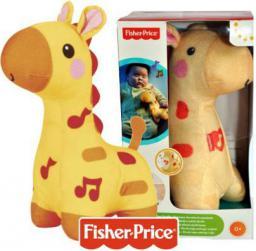 Fisher Price FISHER Świecąca żyrafka przytulanka - BFH65