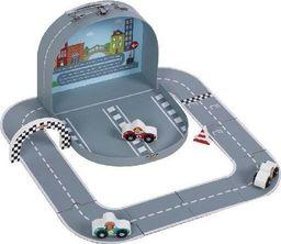 AdamToys Tor wyścigowy z autkami w walizeczce