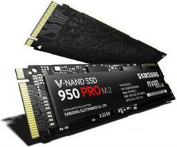 Dysk SSD Samsung 950 Pro 256 GB M.2 2280 PCI-E x4 (MZ-V5P256BW)