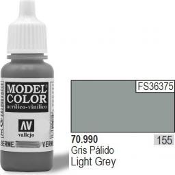 Vallejo VALLEJO Farba Nr155 Light Grey 17ml - 70990