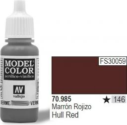 Vallejo Farba Nr146 Hull Red Matt 17ml - 70985