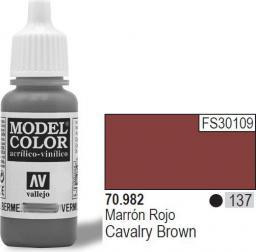 Vallejo Farba Nr137 Cavalry Brown 17ml - 70982