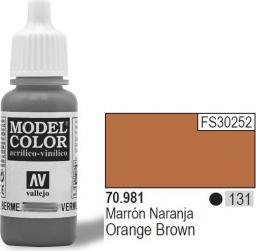 Vallejo Farba Nr131 Orange Brown 17ml - 70981