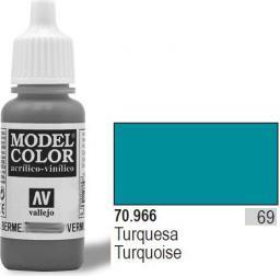 Vallejo Farba Nr69 Turquoise Matt 17ml - 70966