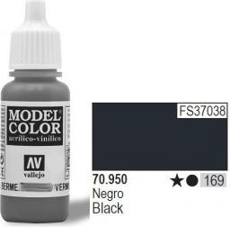 Vallejo Farba Nr169 Black Matt 17ml - 70950