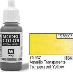 Vallejo Farba Nr184 Transp. Yellow 17ml - 70937