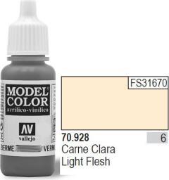 Vallejo Farba Nr6 Light Flesh Matt 17ml - 70928