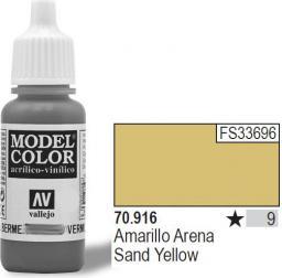 Vallejo Farba Nr9 Sand Yellow Matt 17ml - 70916
