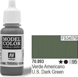 Vallejo Farba Nr95 US Dark Green 17ml - 70893