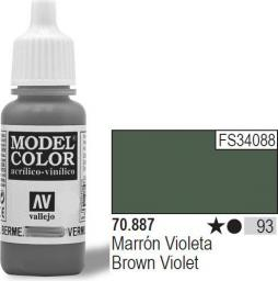 Vallejo Farba Nr 93 Brown Violet 17ml (70887)