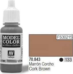 Vallejo Farba Nr133 Cork Brown 17ml - 70843