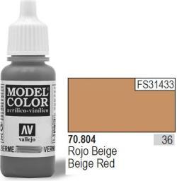 Vallejo Farba Nr36 Red Beige Matt 17ml - 70804