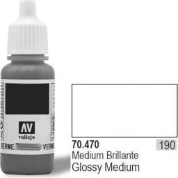 Vallejo Lakier Nr190 Gloss Medium 17ml - 70470