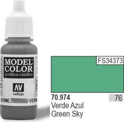 Vallejo Farba Nr76 Green Sky Matt 17ml - 70974