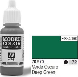 Vallejo Farba Nr72 Deep Green Matt 17ml - 70970