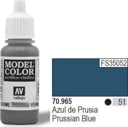 Vallejo Farba Nr51 Prussian Blue 17ml - 70965
