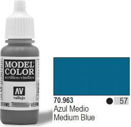 Vallejo Farba Nr57 Medium Blue Matt 17ml - 70963