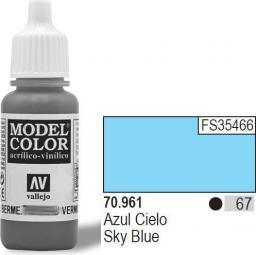 Vallejo Farba Nr67 Sky Blue Matt 17ml - 70961