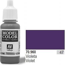 Vallejo Farba Nr47 Violet Matt 17ml - 70960
