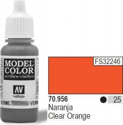Vallejo Farba Nr25 Clear Orange 17ml - 70956