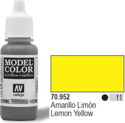 Vallejo Farba Nr11 Lemon Yellow 17ml - 70952