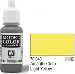 Vallejo Farba Nr10 Light Yellow 17ml - 70949