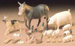 Tamiya Livestock Set 35128