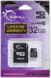 Karta G.Skill MicroSDHC 32GB (FF-TSDG32GA-C6)