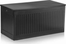 Plonos Skrzynia ogrodowa 107 x 53 x 51 cm 270 litrów - czarna
