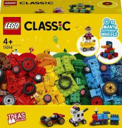 LEGO Classic Klocki na kołach (11014)