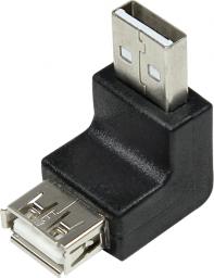 Adapter USB LogiLink USB - USB Czarny (AU0025)