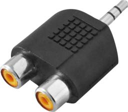 Adapter AV LogiLink Jack 3,5mm -> 2x Cinch (CA1001)