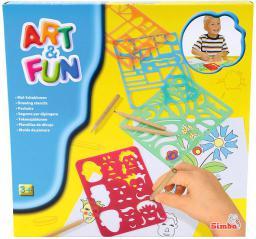 Art&Fun Zestaw Szablonów - 106334628