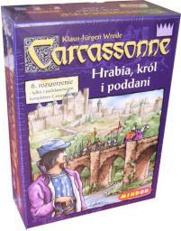 Bard Gra planszowa Carcassonne: Hrabia, Król i Rzeka