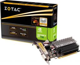 Karta graficzna Zotac GeForce GT 730 Zone Edition 4GB DDR3 (64 bit) HDMI, DVI, VGA, BOX (ZT-71115-20L)