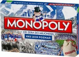 Hasbro Gra Monopoly edycja KKS Lech Poznań