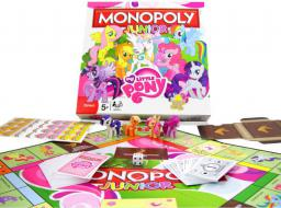 Hasbro Monopoly junior, My Little Pony - (023535)