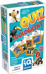 Granna GRANNA IQ Gra Quiz Zoologiczny - 00203