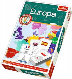 Trefl Gra Europa  Mały Odkrywca - 01270