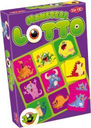 Tactic TACTIC Gra Lotto Monsters - 40397