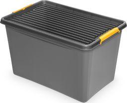ORPLAST Pojemnik do przechowywania ORPLAST, Simple box, 60l, szary