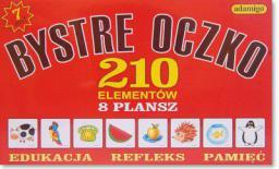 Adamigo Zestaw Edukacyjny Bystre Oczko - 4584