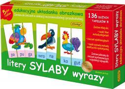Adamigo Litery Sylaby Wyrazy - Edukacyjna układanka obrazkowa - 6076